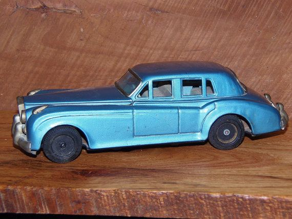 Vintage 1960s Rolls Royce tin car made in Japan | Etsy ...