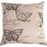 Home Of Style - Butterfly Print Cushion 50 x 50cm homebase