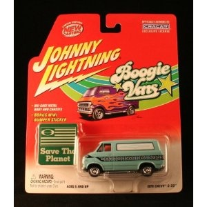 1976 CHEVY G-20 * BLUE * Johnny Lightning 2002 BOOGIE VANS Release One 1:64 Scale Die Cast Vehicle (Toy)  http://howtogetfaster.co.uk/jenks.php?p=B004N4JC5I  B004N4JC5I