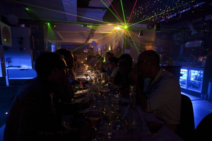 food, music and lights! pop-up dining and sensory experience -