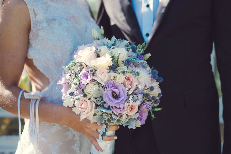 Pastel bouquet classic chic wedding Melbourne Australia photographer