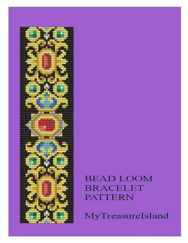 Bead Loom Vintage Motif 16 Bracelet Pattern PDF