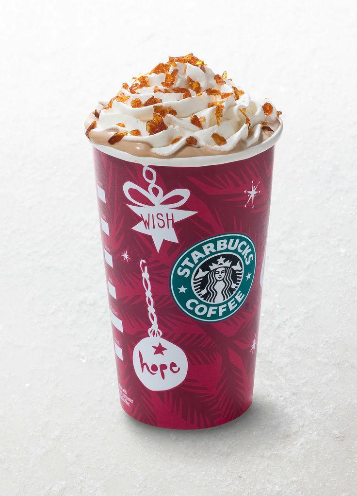 My Special Starbucks Sunday treat today - Caramel Brûlée Latte - caramel heaven!