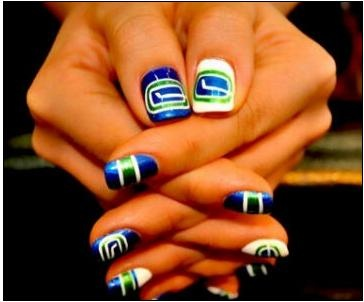 great Canucks nails