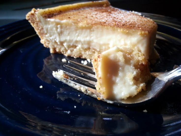 "Amish bakery custard pie! ""this easy to make pie is so creamy and simply delicious."