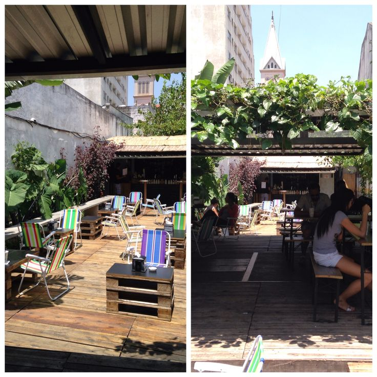 Unexpected right in the middle of the big SAO PAULO, Brazil. Relax at Pitico place/bar