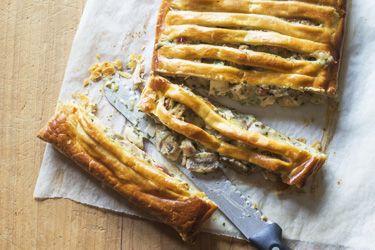 Chicken and ham pie – Recipes – Bite