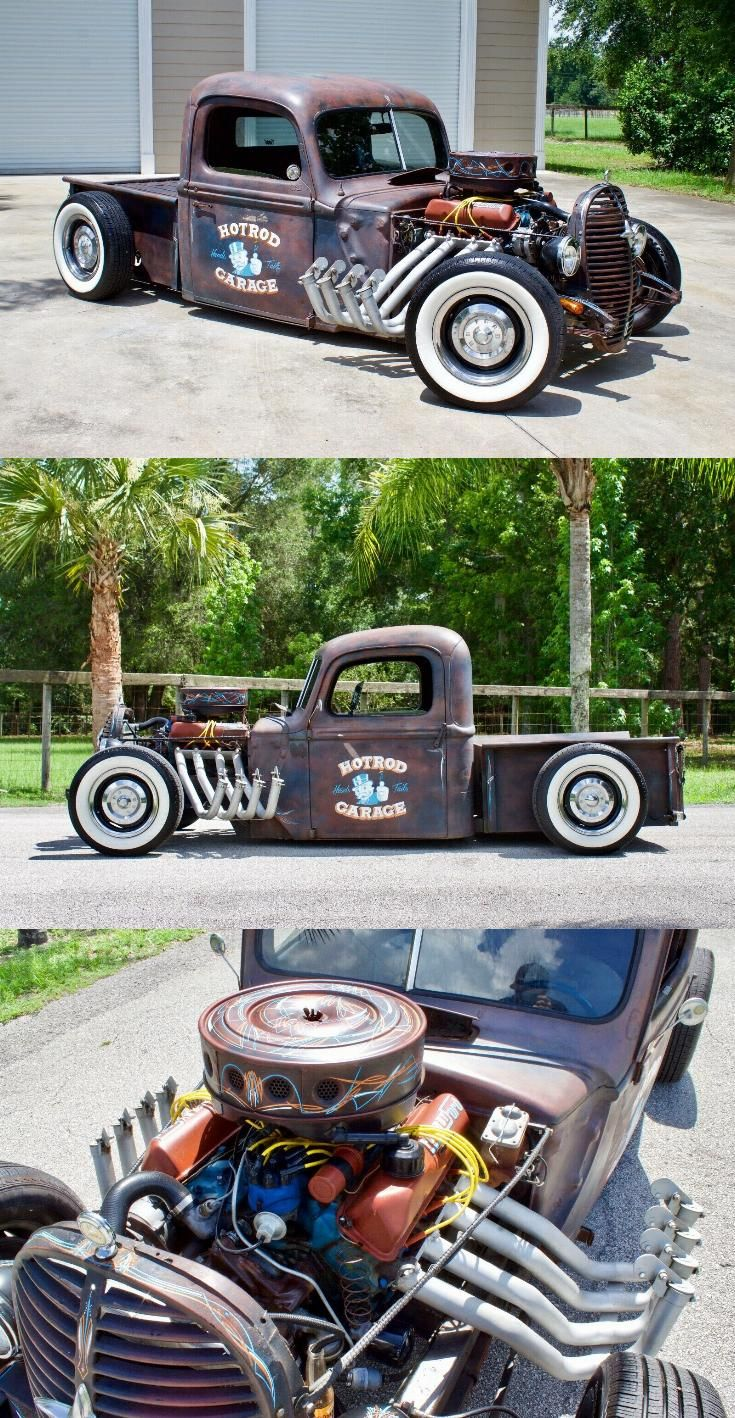Rusty Patina Paint 1940 Ford Pickup Hot Rod In 2020 Hot Rod Pickup Ford Pickup Vintage Trucks For Sale