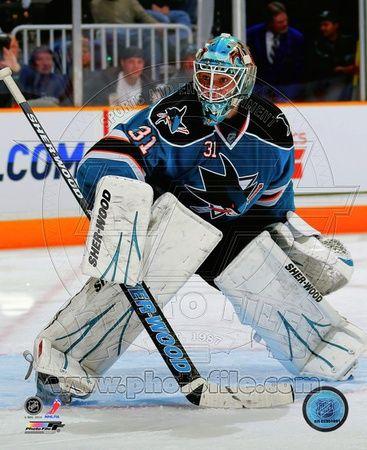 San Jose Sharks Antti Niemi 2010-11 Action