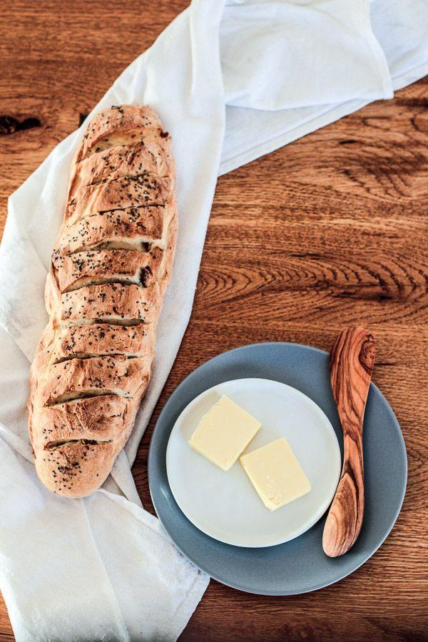 Die Glücklichmacherei: Selbst gebacken schmeckt am besten 〖Chia-Walnuss-Brot〗