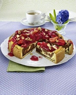 Erdbeer Rhabarber Kompott