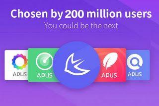 Бесплатные мобильные приложения: APUS Launcher APK