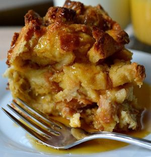 Slow cooker French toast bread pudding.This is perfect delicious recipe for breakfast.