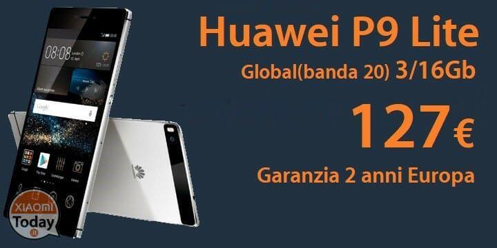 Codice Sconto - Huawei P9 Lite 3/16Gb Global (banda 20) a 127€ garanzia 2 anni Europa spedizione Italy Express Inclusa #Xiaomi #Coupon #Huawei #Offerta #P9Lite https://www.xiaomitoday.it/?p=27896