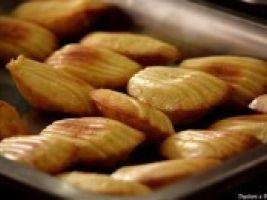 Madeleines au Comté et aux épices douces •