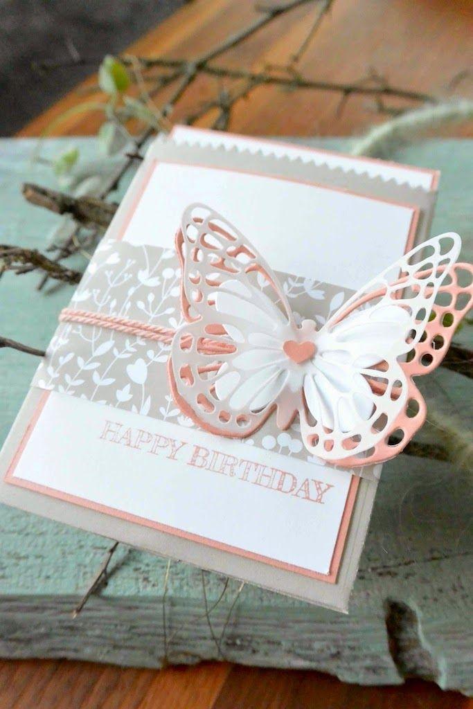 klikaklakas kreativer kram: Schmetterlingsgruß zum Geburtstag - Thinlits Forme...
