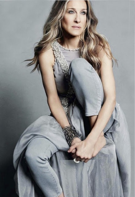 """People should dress the way they want. Any rules for age or shape are silly.""  Sarah Jessica Parker"