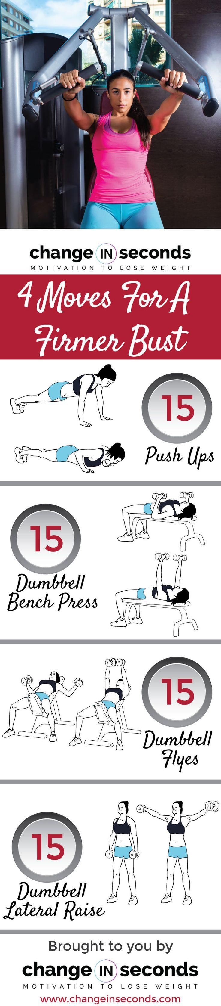 4 Moves For A Firmer Bust A Chest Workout For Women Download FREE PDF