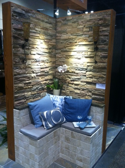 Manufactured stone vignette from IMRE client, Daltile.