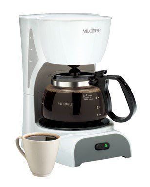 Mr Coffee Coffeemaker 4 Cup White *** See this great product from Amazon.com