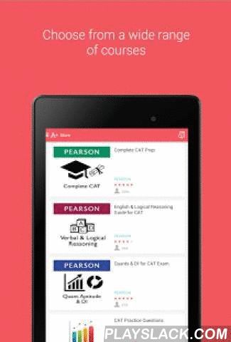 CAT / XAT - MBA Exam Prep  Android App - playslack.com , The CAT Prep app provides you an exhaustive course for CAT / XAT / CMAT and other MBA entrance exam preparation turning your phone into a mobile tutor. The course has been built by experienced CAT trainers and is designed specially for studying and testing yourself on mobile. The course is powered by Pearson. The course includes notes, designed in a modular format, large set of practice questions along with detailed answers, flashcards…