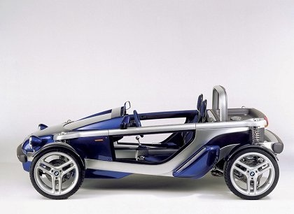 BMW Z21 , 1995.  (P'raps the Aerial Atom folks saw some of these images?)