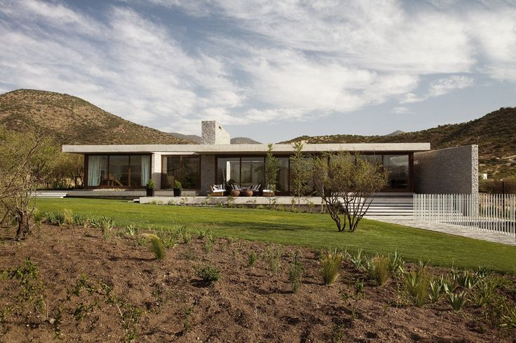 Built by Juan Carlos Sabbagh in Colina, Chile with date 2009. Images by Francisca Polanco. The project consists of a single family house located in Hacienda de Chicureo, in the district of Colina.  Chicureo ...
