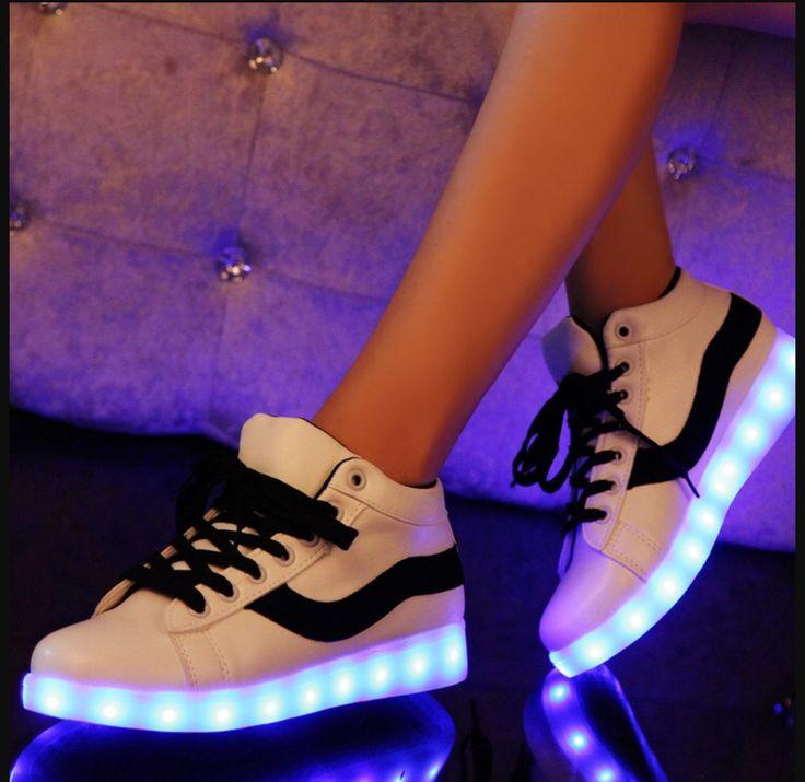 awesome Светящиеся кроссовки для девочек (50 фото) — Модная обувь 2017