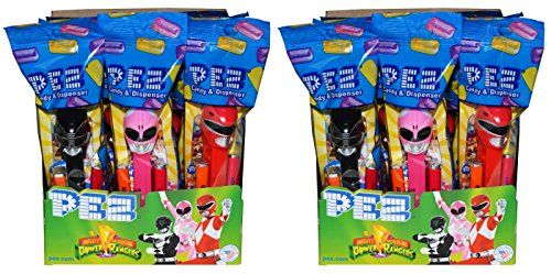 Power Rangers PEZ Candy Dispensers Party Favors (24 Pack)...