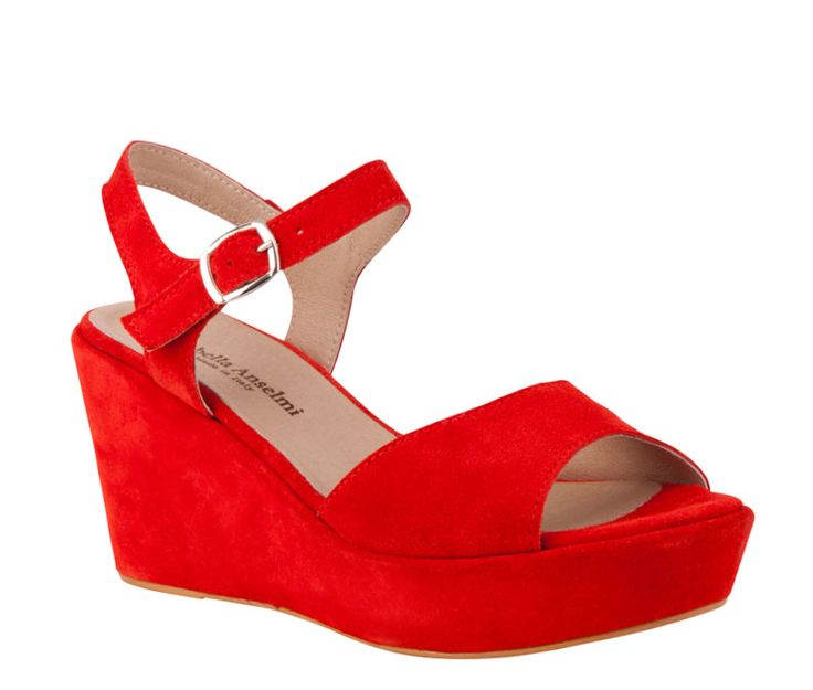 Overland Footwear – Isabella Anselmi – 'Catrina' Coral Suede and Black Suede $189.90 nzd http://www.overlandfootwear.co.nz/catrina-p-5493/colour/Coral%20Suede#colour=Coral Suede