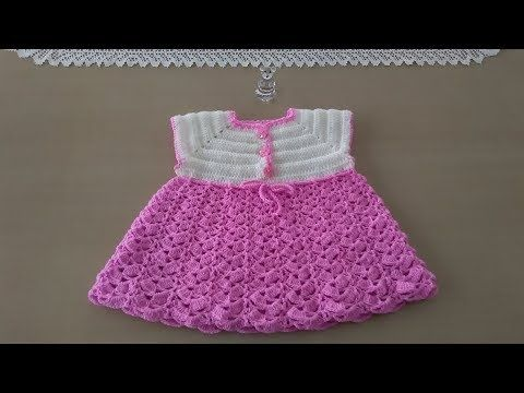 Tutorial Vestido Bebé Ganchillo | Crochet - YouTube