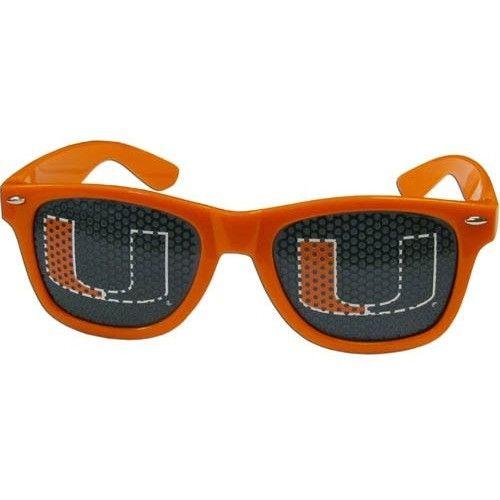 Miami Hurricanes Game Day Retro Sunglasses