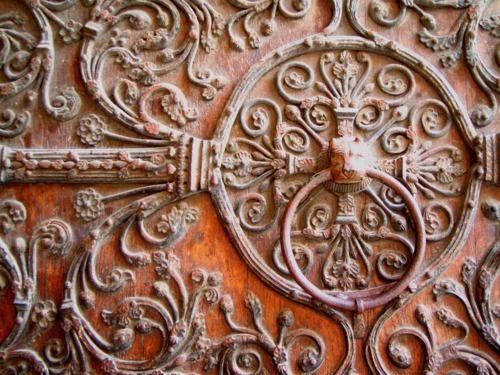 door knocker - beautiful detail