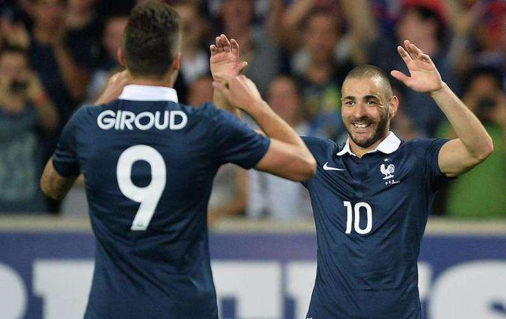 Giroud Berharap Benzema Segera Kembali ke Timnas Prancis