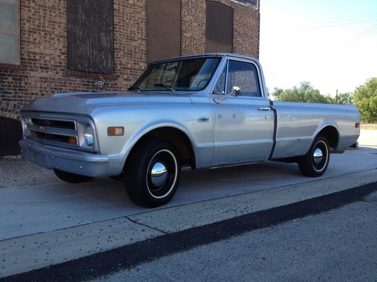 daddy had a 1968 Chevy truck...blue!