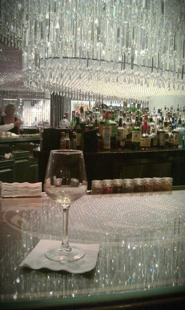 The Chandelier bar at The Cosmopolitan, Las Vegas - © 2012 Pat Branch / PBmedia