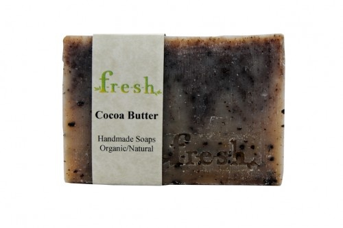 Organic handmade soap by F-R-E-S-H. All Natural organic ingredients! Real Cocoa Butter.  Amazing for the skin.  www.F-R-E-S-H.ca