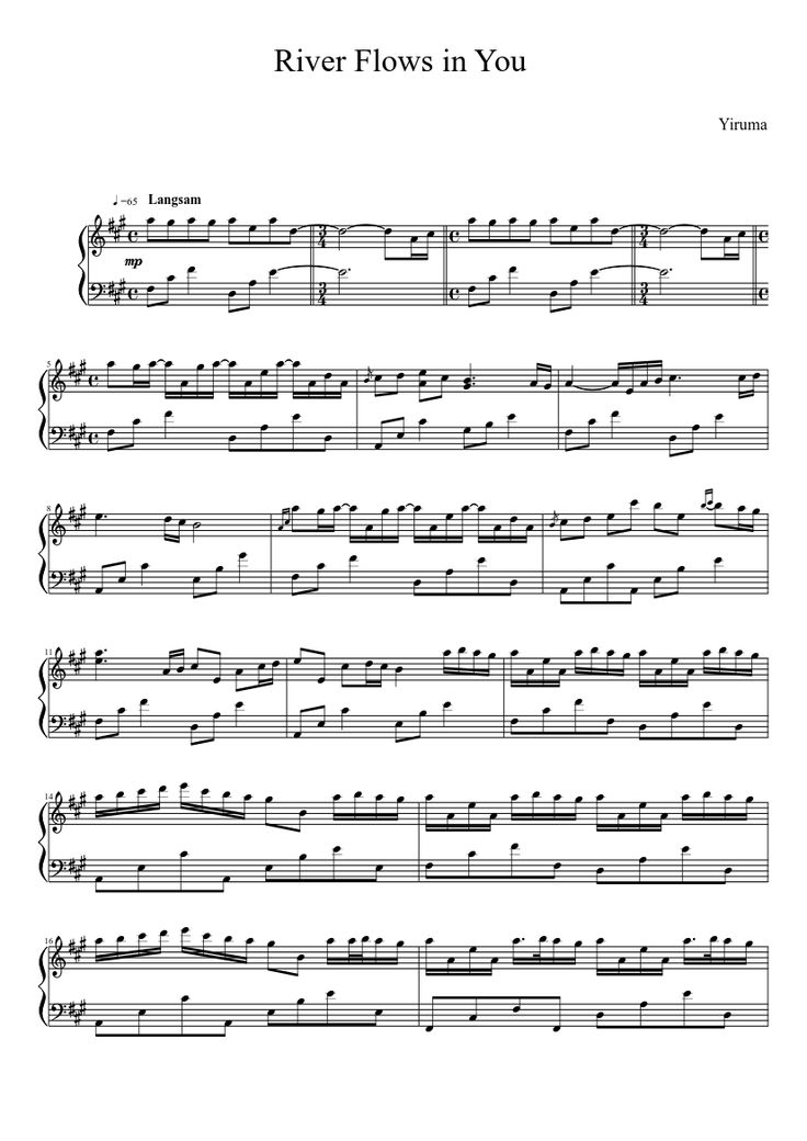All Music Chords a river flows in you sheet music : 13 best Piano and Violin! images on Pinterest | Sheet music, Music ...
