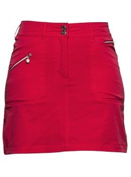 "Daily Sports USA Women's  Solid Miracle 20.5"" Golf Skort-Red"