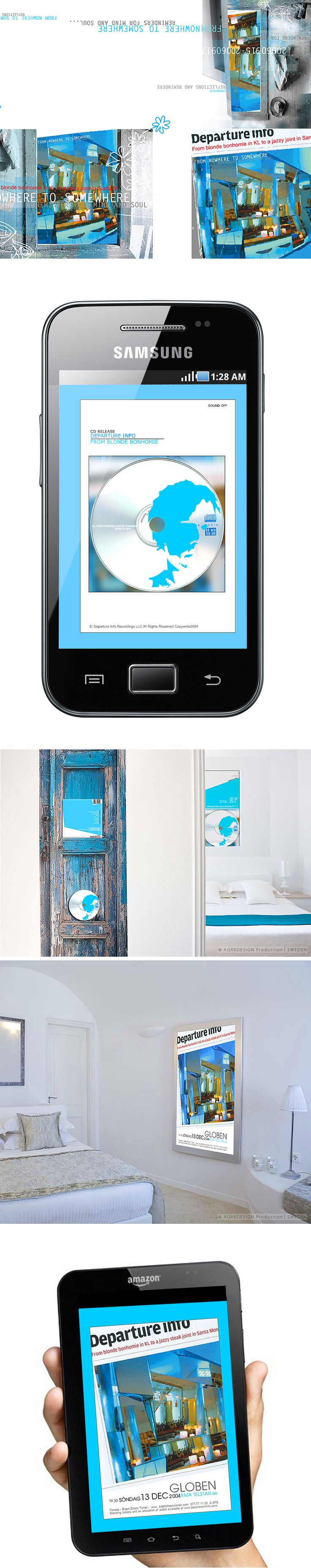 CASE | Poster . Website/mobil . Illustration . Graphics . CD-cover . Interior - canvas | ☆ Departure Info ☆