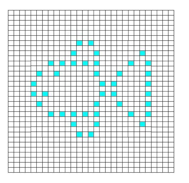 Ravelry: Fish Bobble Chart By Kari Philpott