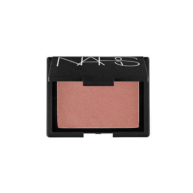 """I seriously love blush. It just makes me happy and brighter when I welcome clients into class."" NARS Cosmetics Blush in Sin, $30, sephora.com"