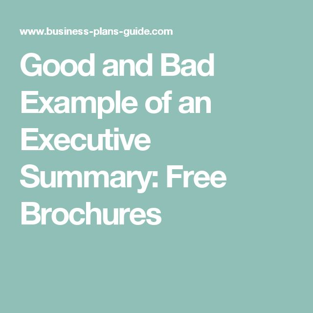 Best 25+ Executive summary example ideas on Pinterest Executive - free executive summary template