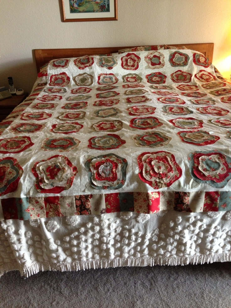 1000 Images About French Rose Quilt On Pinterest Shabby