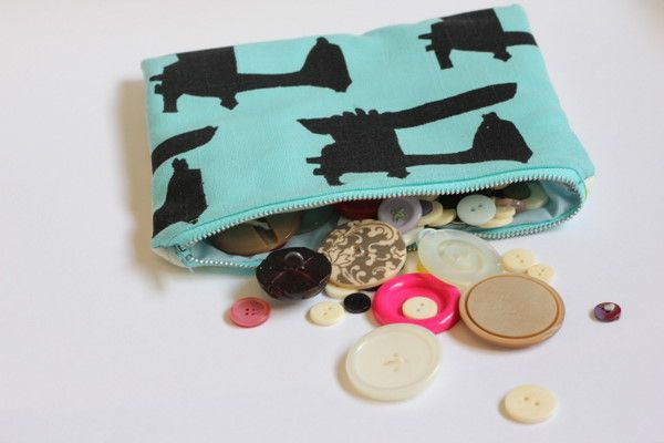 free zipper pouch tutorial