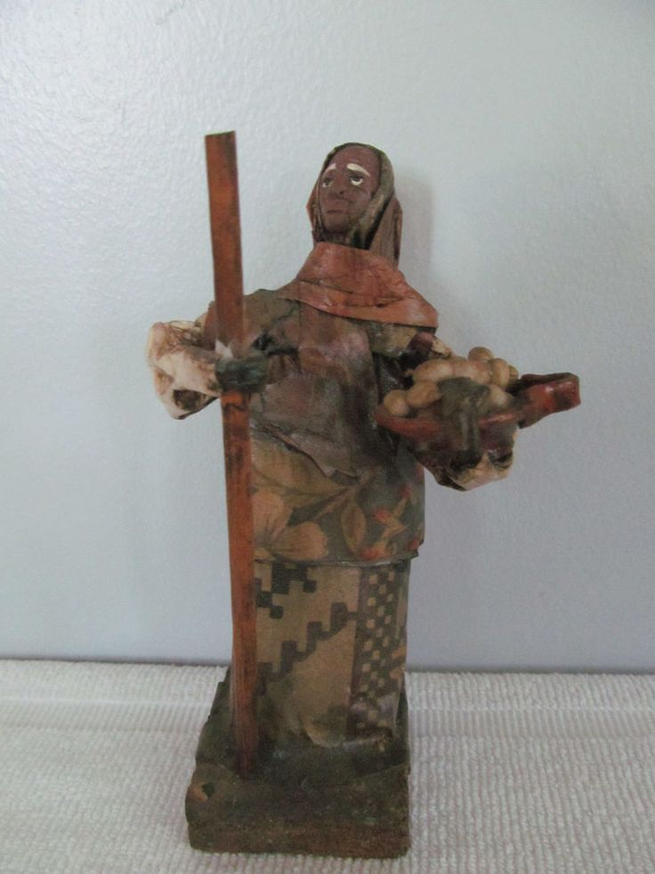 17 best images about vintage mexican folk art figurines for Best paper for paper mache