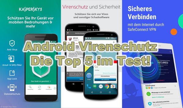 Heute nehmen wir uns einem sehr wichtigem Thema an: dem Virenschutz auf Android Smartphones und haben die 5 besten Schutzprogramme getestet, Virenschutz allein ist schon lange nicht mehr ausreichend...
