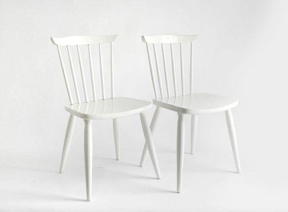 white kitchen chairs