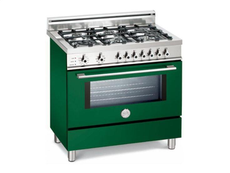 Gas Ranges >> bertazzoni emerald green gas cooking range | green is my favorite color | Pinterest | Ranges ...