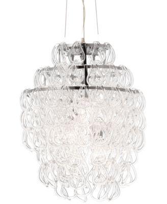 Zuo Pure Cascade Chandelier Macys Com Glass Ceiling Lamps Ceiling Lamp